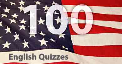 100 English Quizzes for adult